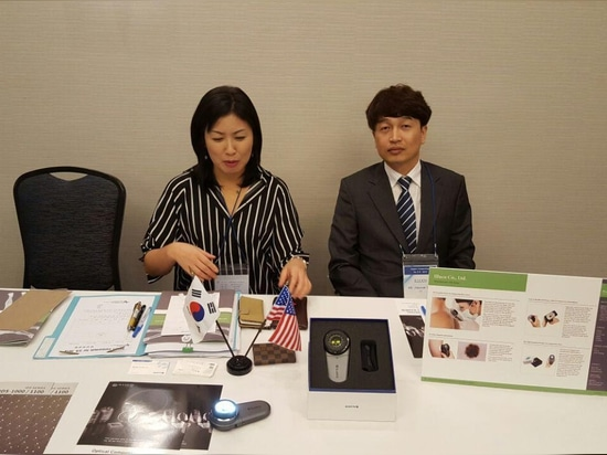 ILLUCO Dermatoscope IDS-Series have been presented in the US market