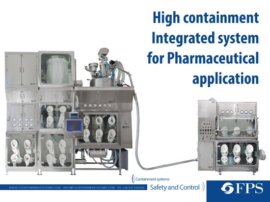 High containment Integrated system