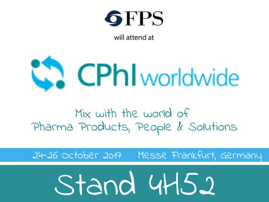 You are invited to visit us at CPhI World Wide