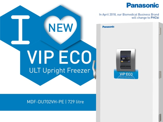 Introducing our most energy efficient VIP ECO ULT Freezer: the MDF-DU702VH