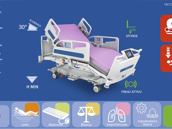 VIVO icu bed