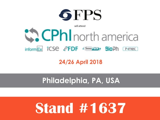 You are invited to visit us at CPhI North America