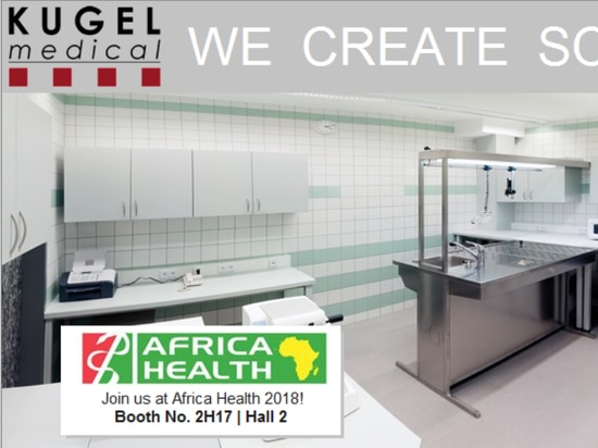 KUGEL medical at Africa Health 2018: Hall 2, Booth No 2H17