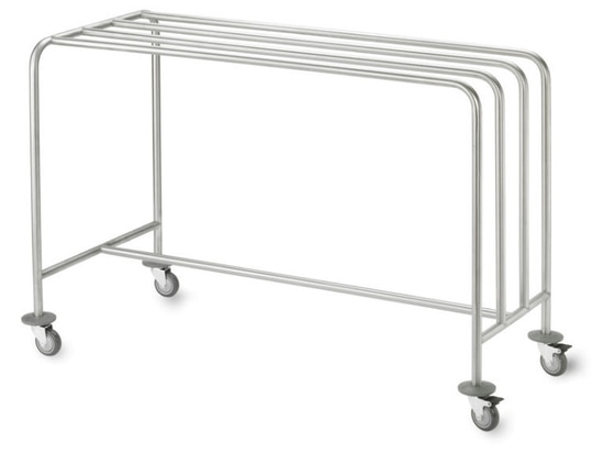 Trolley with hanging rack by Francehopital
