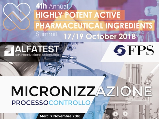 Containment & Micronization workshops