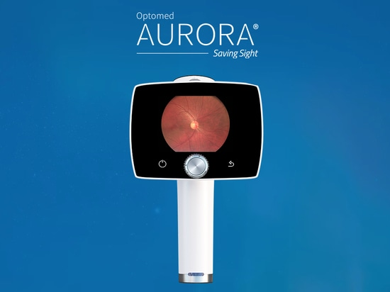 With the Optomed Aurora, you can perform fundus screening anytime, anywhere.