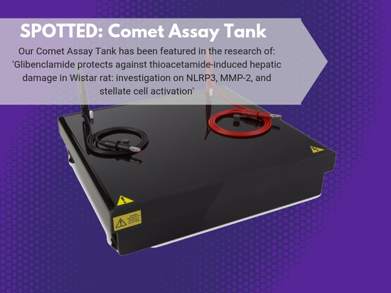 Comet Assay Tank Spotted in Research