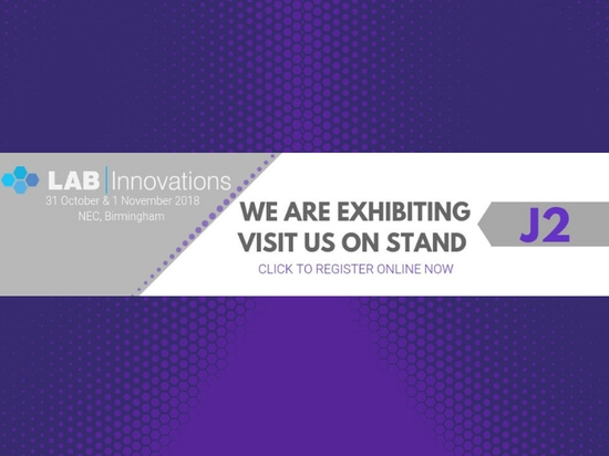 Visit us at Lab Innovations 2018