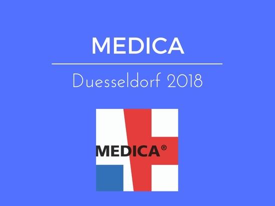 Gloreha at MEDICA 2018