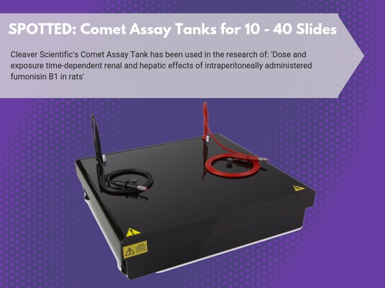 Comet Assay Tanks for 10-40 slides