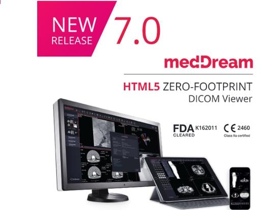 Universal zero footprint HTML5 DICOM Viewer