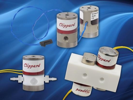 Clippard PTFE Media Isolation Valves Provide Custom Solutions