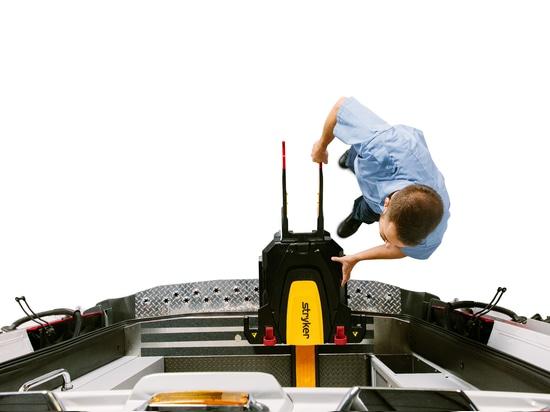 Stryker Power-LOAD - powered cot fastener