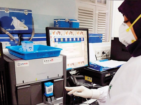 GeneXpert machines India has 650 GeneXpert machines in public sector and close to 100 in private sector. (Credit: GeneXpert)
