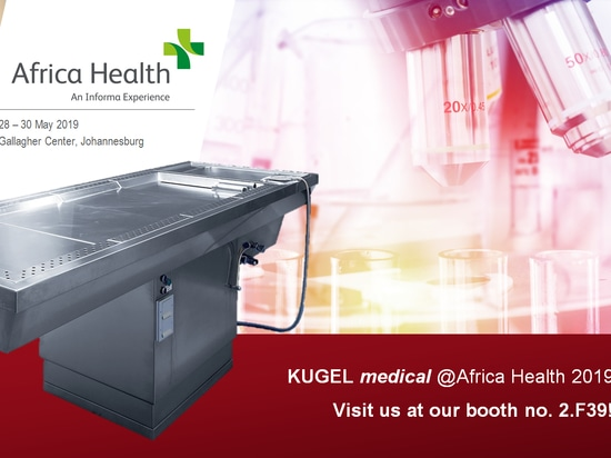 Let's meet at Africa Health 2019 - booth no. 2.F39!