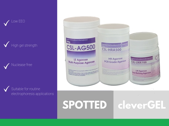 SPOTTED: CleverGEL Agarose
