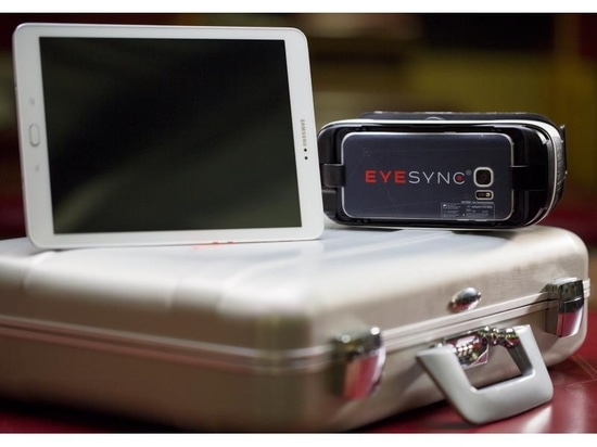 The Eye-Sync system is designed to provide a variety of objective assessments that can be rapidly performed to accurately identify visual impairments. Once these impairments have been identified, t...