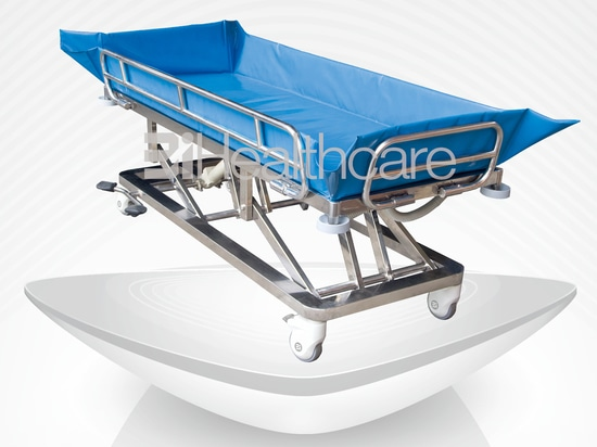 New designed hydraulic shower bed / stretcher by BiHealthcare