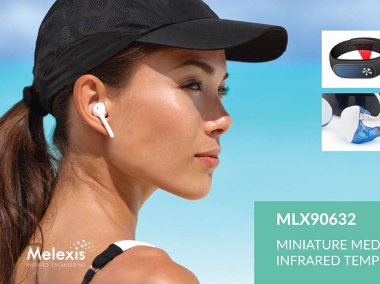 Melexis announces world's smallest medical grade FIR sensor