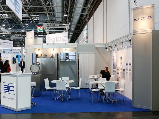 A.J.Costa Was Very Happy to Meet you at Medica 2018