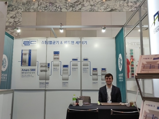 A.J.Costa at 2019 Healthcare & Medical Technologies in South Korea