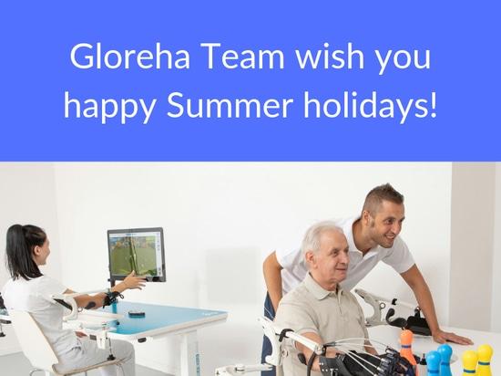 Gloreha Team wish you happy Summer holidays!
