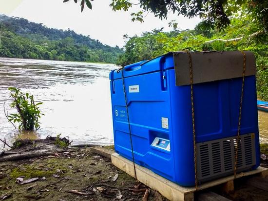 Solar powered vaccine refrigerator TCW3000SDD