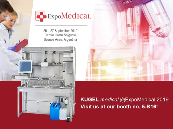 KUGEL MEDICAL GOES TO ARGENTINA – VISIT US AT THE EXPOMEDICAL 2019!