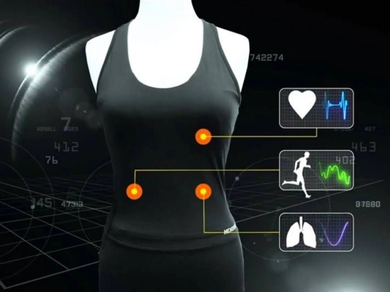 A smart shirt that measures lung function