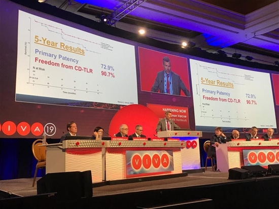 George Adams presents six-month TOBA II BTK results at VIVA 2019