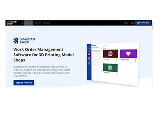Stratasys' work order management software for 3D printing shops