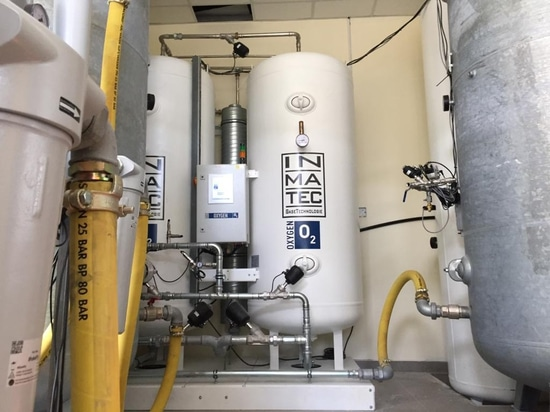MEDICAL OXYGEN FOR THE NEW BUILDING OF THE S. HITHADHOO REGIONAL HOSPITAL IN THE MALDIVES
