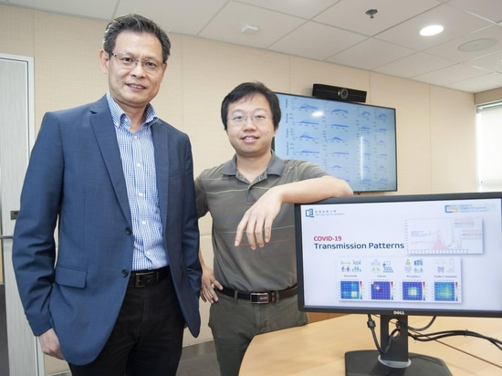 Liu Jiming (left), chair professor, and Dr Liu Yang (right), assistant professor of the Department of Computer Science at HKBU, led a study in developing a novel computational model that explicitly...