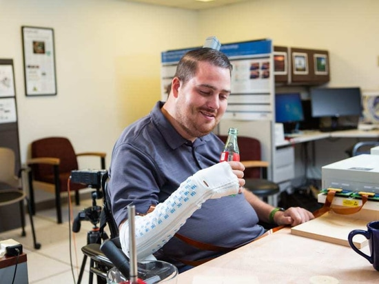 Ian Burkhart, the first participant in a five-year study of Battelle's NeuroLife neural bypass technology, a project Battelle has worked on in conjunction with doctors at The Ohio State University ...