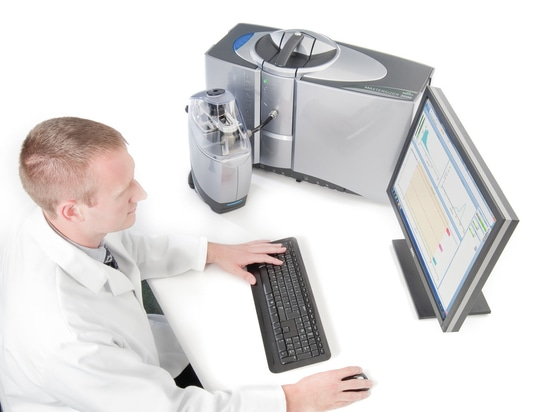 Particle size distribution analysis: MS3000 software navigation