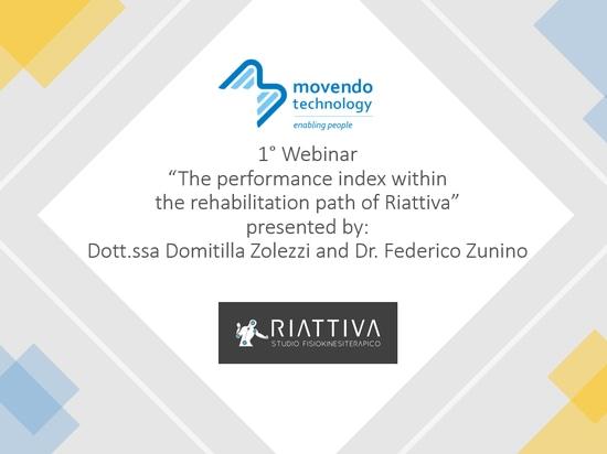1° Movendo Webinar in collaboration with Riattiva
