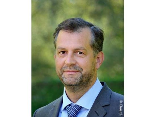 Prof. Heinrich Audebert, Deputy Clinical Director of Neurology at the Charité Universitätsmedizin Berlin.