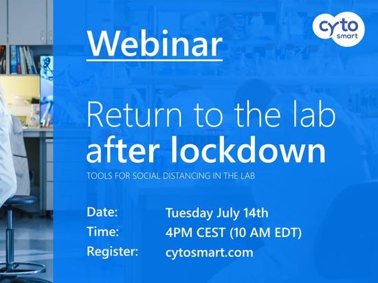Return to the lab after lockdown [Webinar]