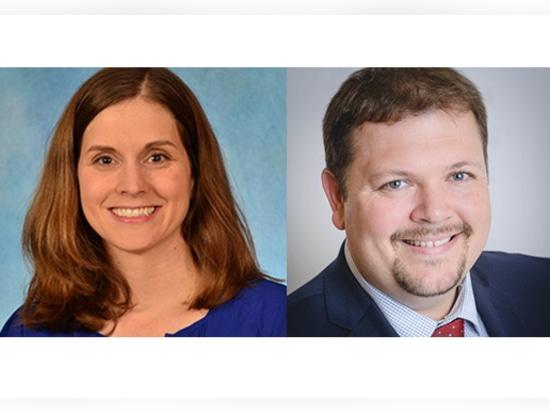 Emily Sickbert-Bennett, PhD, and Phillip Clapp, PhD.