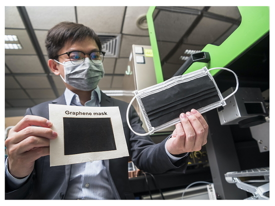 Graphene Facemask to Deactivate Coronaviruses and Bacteria