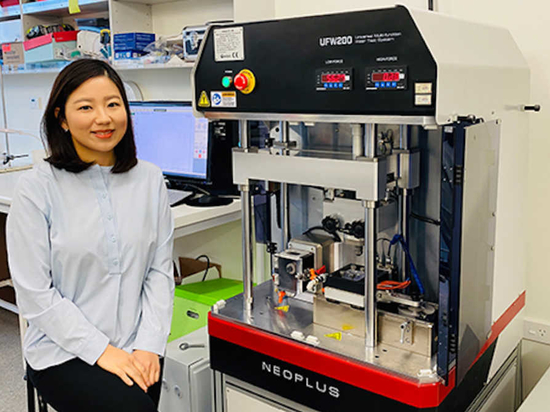 Dr Joanne Choi, a dental technology and materials researcher, is currently developing a tooth-coloured crown to be used with the Hall technique.