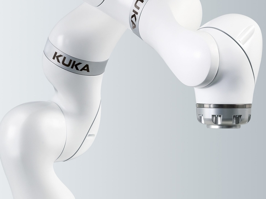 Kuka's LBR Med, a collaborative robot for medical applications.