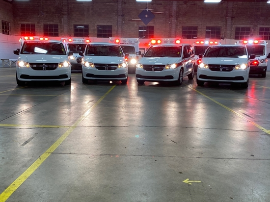 Spirit Medical Transport Receives New Vehicles and Equipment