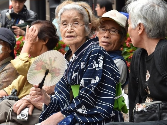 Elderly residents at a temple in Tokyo. Japan expects a shortage of labour, medical and nursing care services as its population ages.