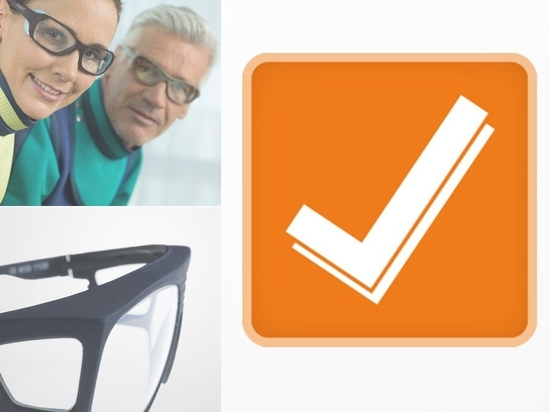 Virtual Try-On of MAVIG Radiation Protection Glasses