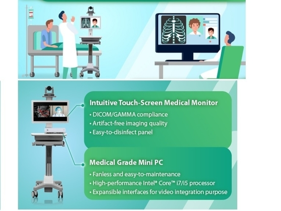 """BriteMED 21"""" Touch Medical Monitor"""