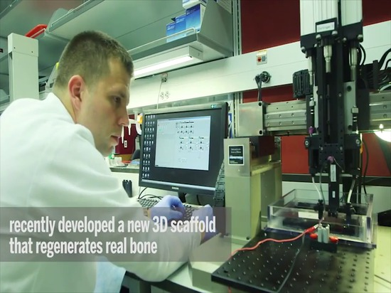 3D-Printed Ceramic Implants Help Regrow Bone
