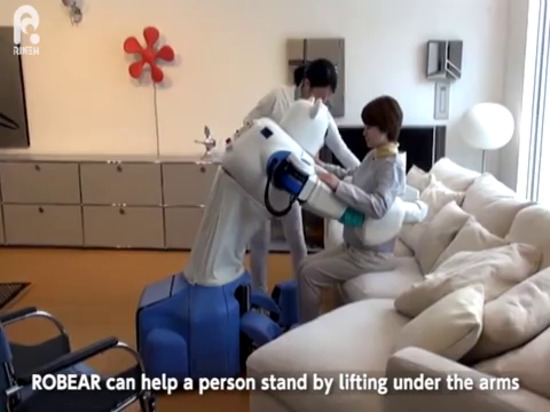 ROBEAR: The strong robot with the gentle touch