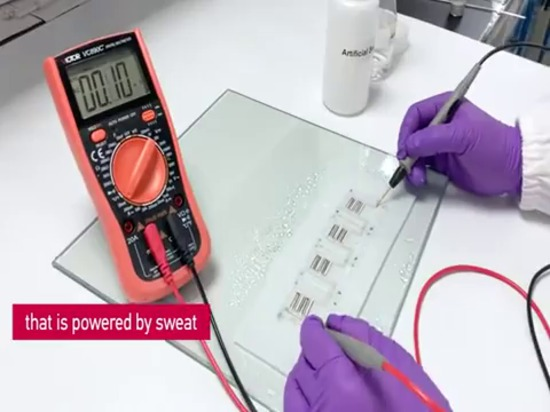 See a video about the battery