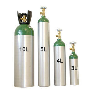 酸素医療用ガスシリンダー / アルミ製